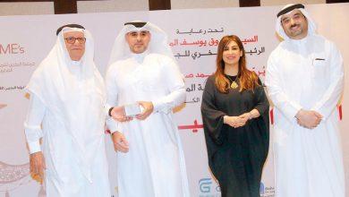 صورة تنمية المؤسسات الصغيرة تكرم «أخبار الخليج» وجمعا من الإعلاميين في غبقتها السنوية