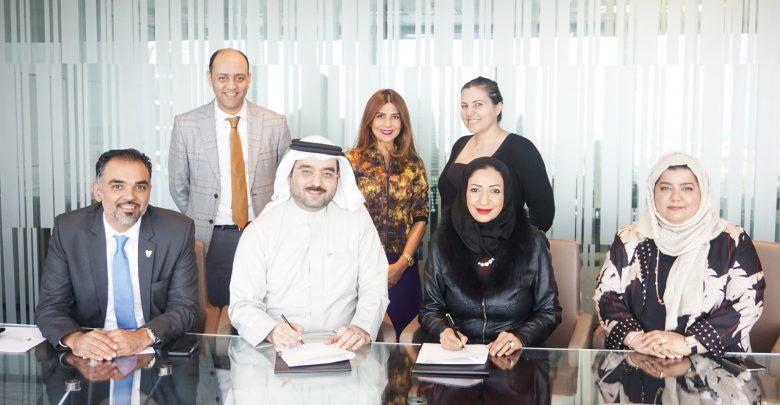 """صورة جمعية البحرين لتنمية المؤسسات الصغيرة ومؤسسة ريادة الأعمال البحرينية توقعان """"مذكرة تفاهم"""""""